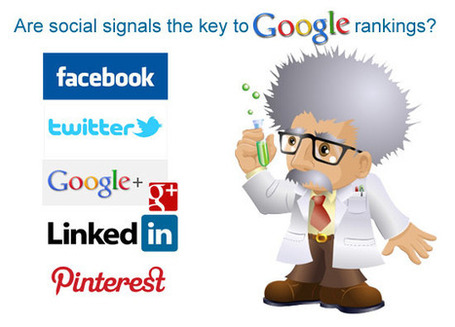social signals, google rankings