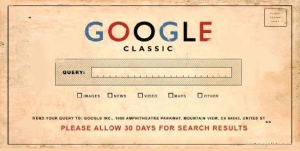 google classic e il passato del seo