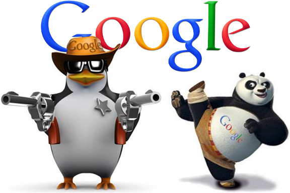 panda e penguin google
